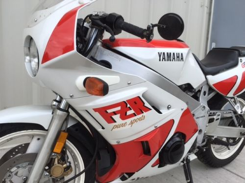 1988 Yamaha FZR400 L Side Detail