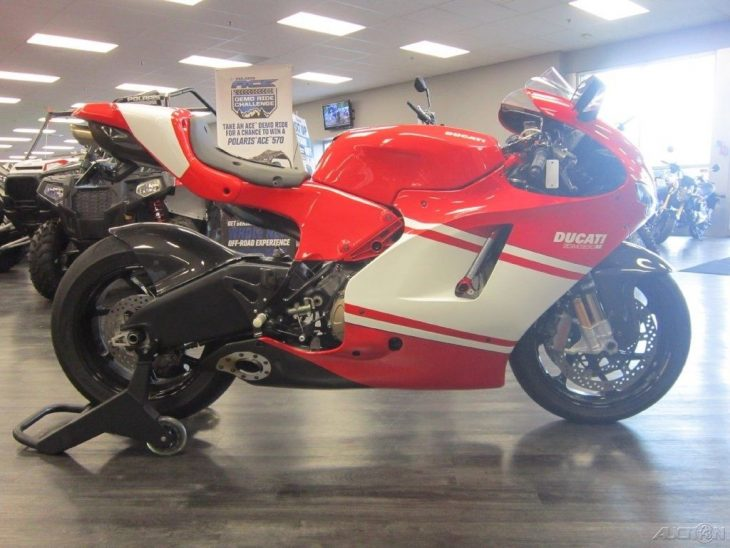 Sweet Sixteen: 2008 Ducati Desmosedici D16RR for Sale