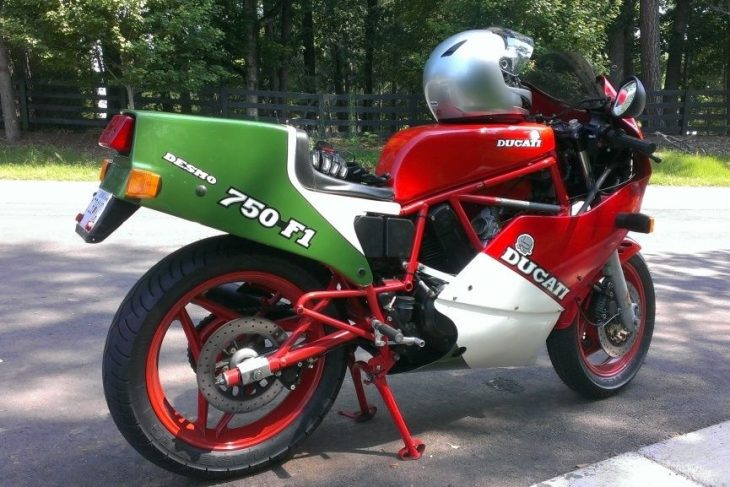 still truckin' - 1986 ducati 750 f1 - rare sportbikes for sale