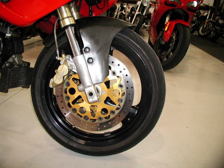 20160622 1993 ducati 750ss right front wheel