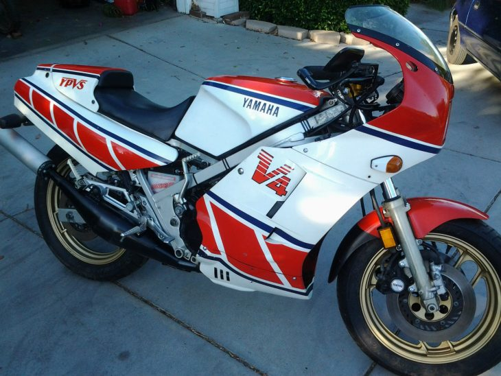 V4 Race Replica: 1985 Yamaha RZ500 for Sale