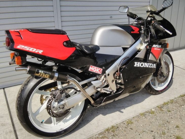 1989 Honda NSR250R MC18 R Rear