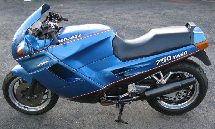 Blue By You – 1988 Ducati Paso 750