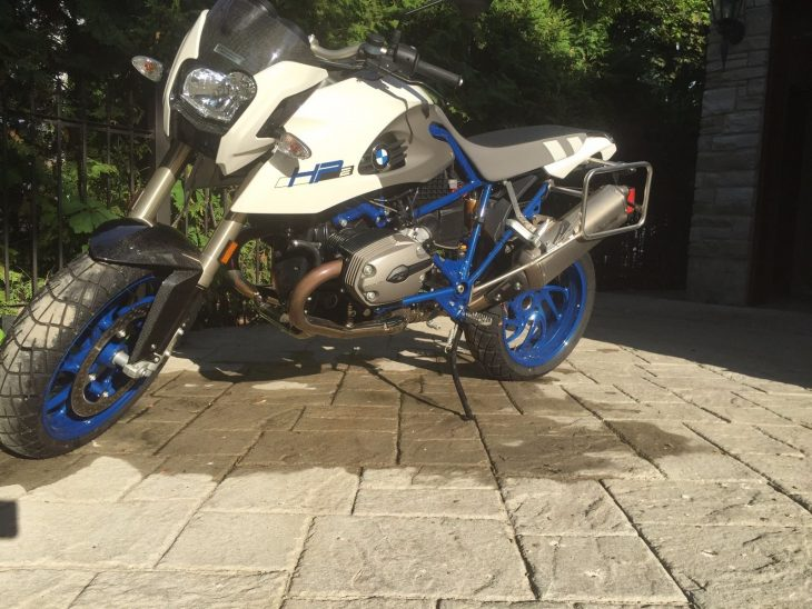 20160704 2008 bmw hp2 megamoto left front