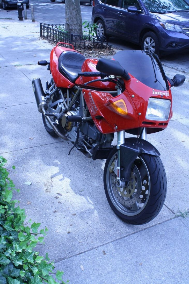 20160709 1997 ducati 900ss front