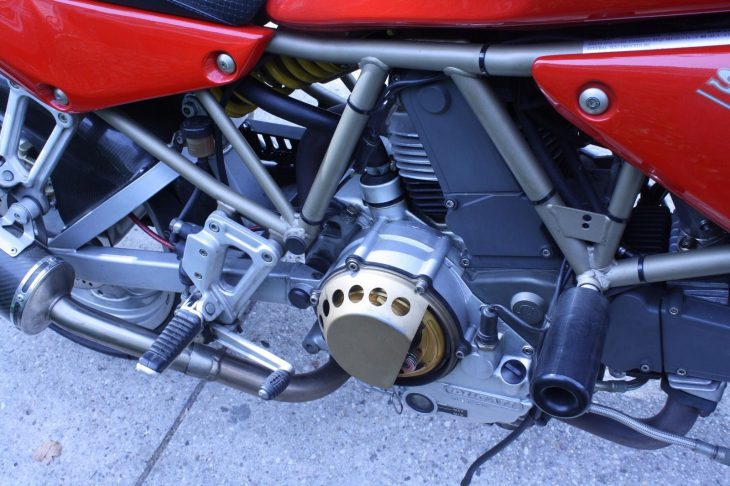 20160709 1997 ducati 900ss right engine