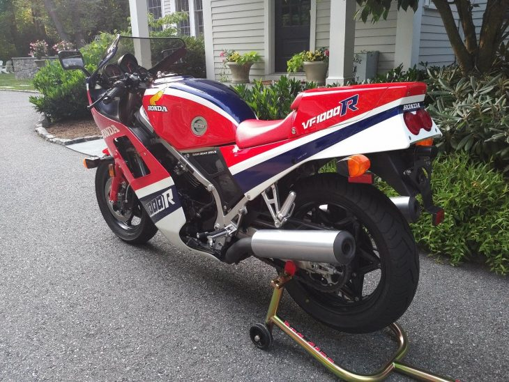 Back to the future: 1985 Honda VF1000R with under 500 miles