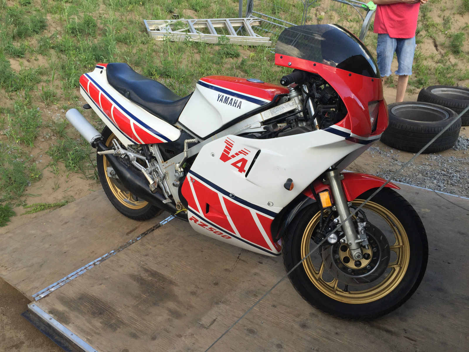 Unfairly overshadowed 1984 yamaha rz500 for sale rare for Yamaha rz for sale