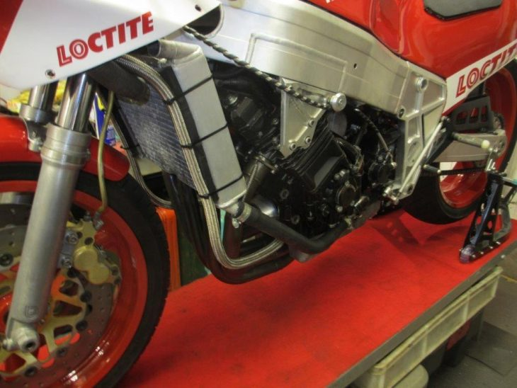 1988 Bimota YB4 L Side Unfaired