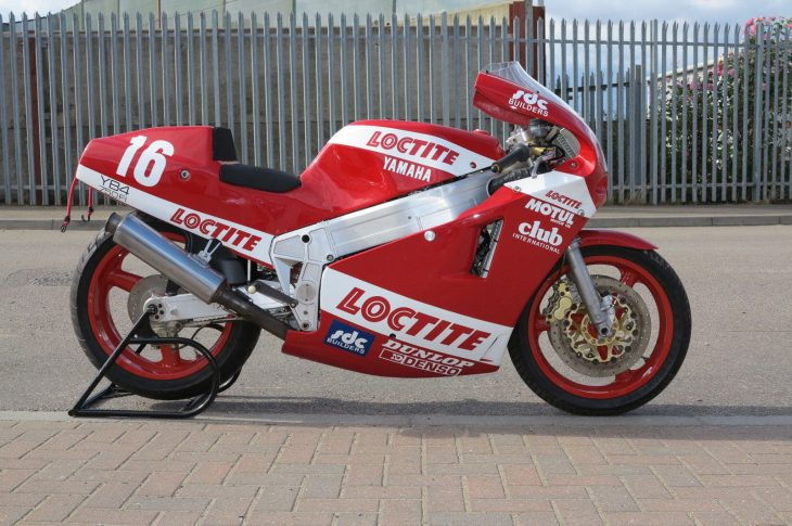 Framing the Superbike: 1988 Bimota YB4 Race Bike For Sale