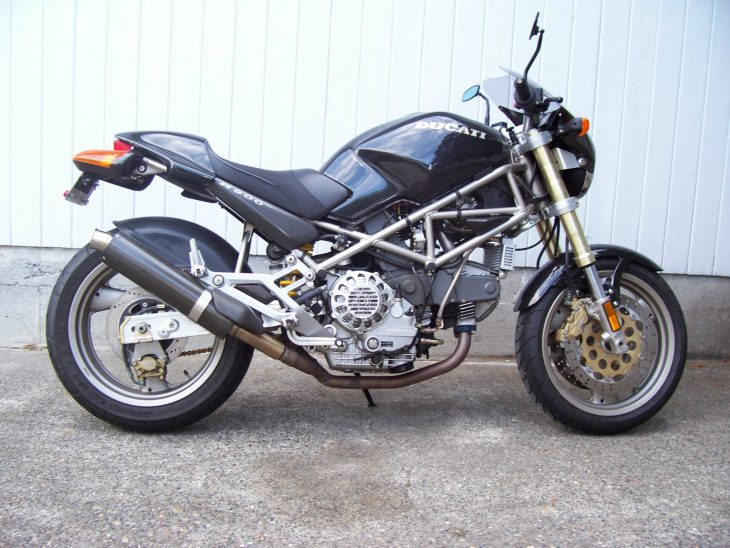 Low-Mileage Parts-Bin Exotic: 1995 Ducati M900 Monster for Sale