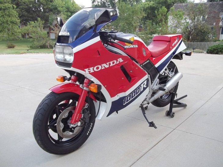 Vee-Four: 1985 Honda VF1000R for Sale