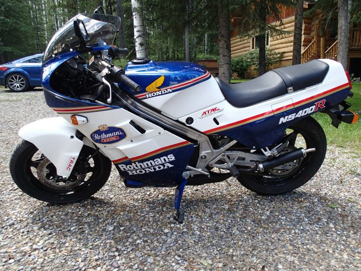 1986 Honda NS400R L Side