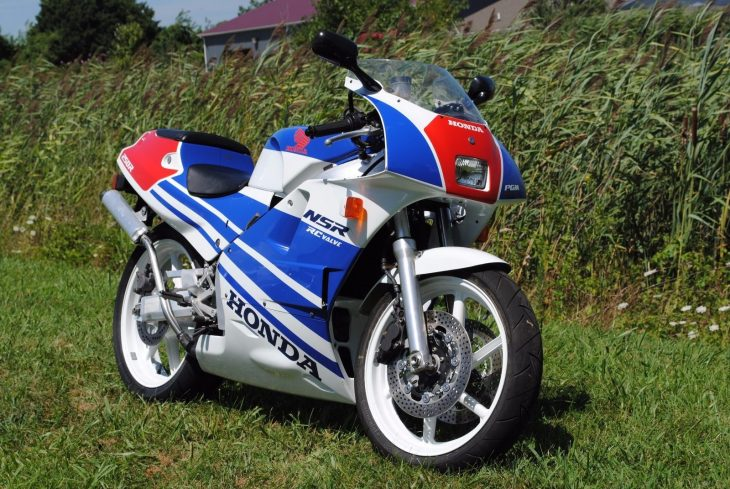 De-Restricted Import: 1989 Honda NSR250R MC18 R5K for Sale