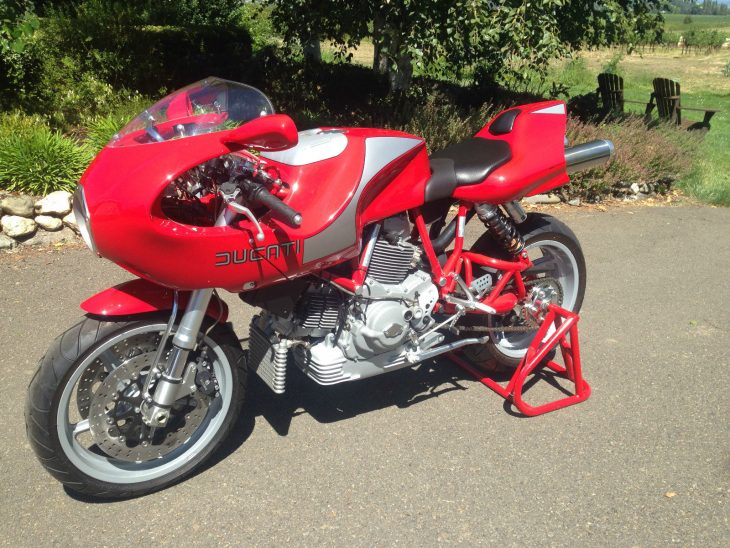 Never Been Kissed: Zero-Mileage 2002 Ducati MH900e for Sale