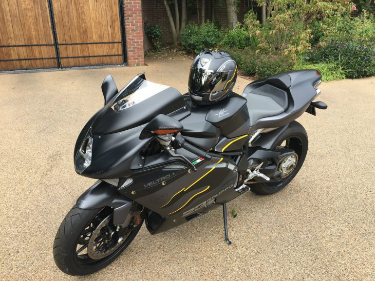 Jet Fighter Replica: 2006 MV Agusta F4 1000 Veltro Strada for Sale