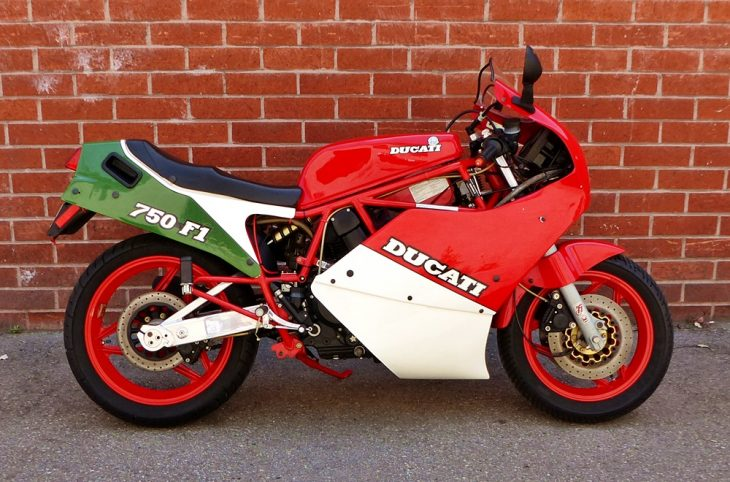 One Owner, Low Mile -1988 Ducati 750F1