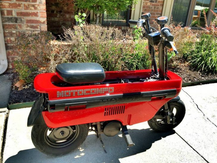 Admit it, you want one:  Honda Motocompo units (3) for sale on ebay.