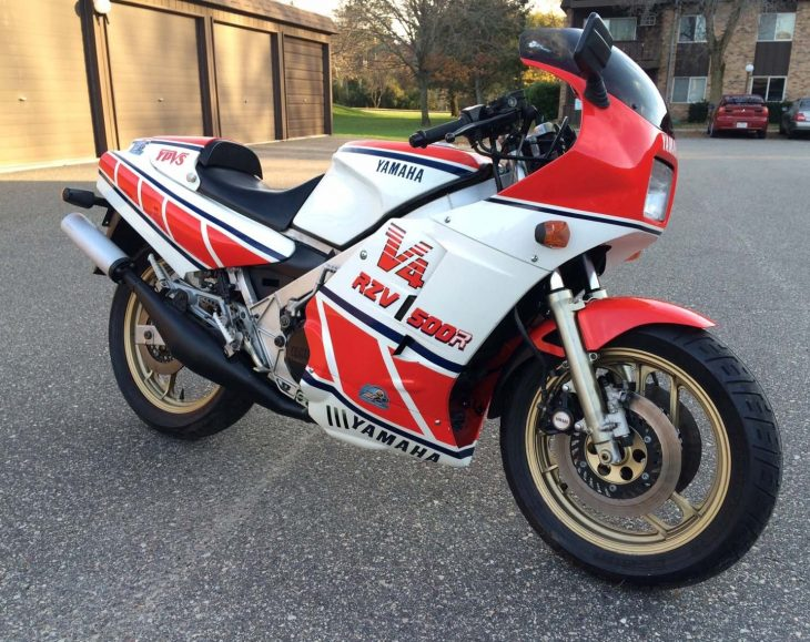 Cali-Titled Two-Stroke: 1985 Yamaha RZV500R for Sale