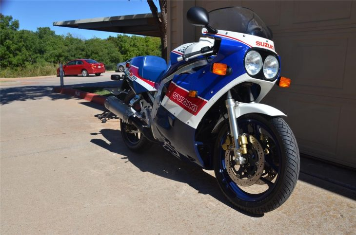 Rare Slabbie: 1986 Suzuki GSX-R 750R Limited Edition for Sale