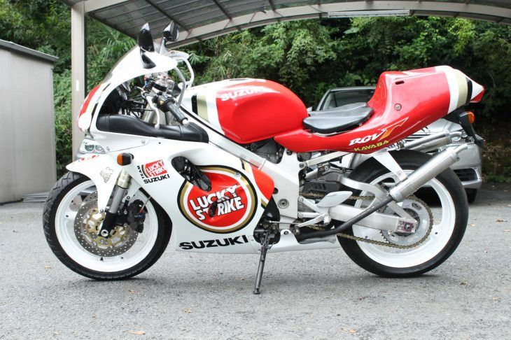 Get Lucky: 1997 Suzuki RGV250SP VJ23A for Sale in Japan