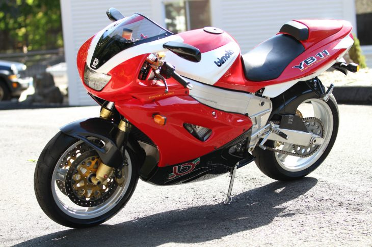 Super and Leggera: 1998 Bimota YB11 Superleggera for Sale