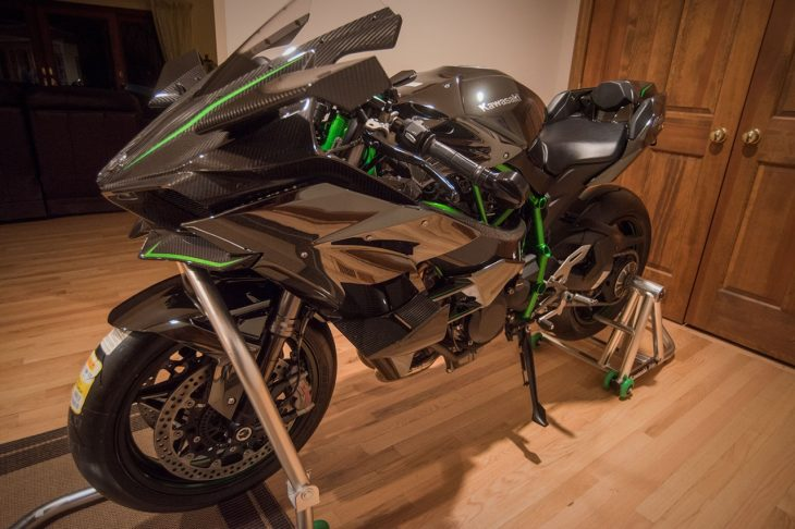 Featured Listing: Street-Freaking-Legal 2015 Kawasaki H2R for Sale