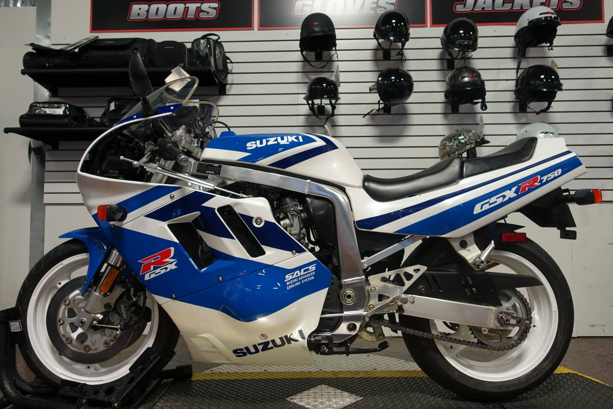 featured listing 1992 suzuki gsx r750 rare sportbikes for sale. Black Bedroom Furniture Sets. Home Design Ideas