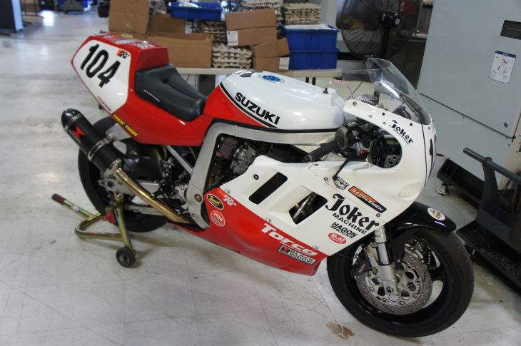 In a World – 1990 Suzuki GSX-R750 Racebike