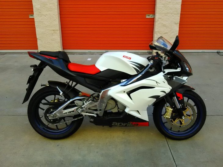 you haul 2006 aprilia rs 125 rare sportbikes for sale. Black Bedroom Furniture Sets. Home Design Ideas