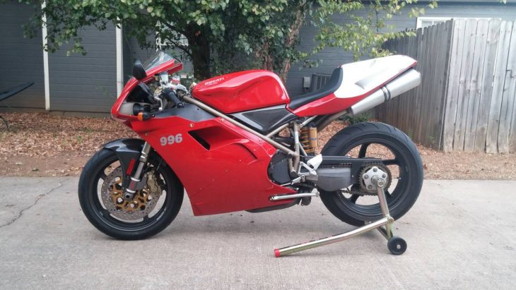 Featured Listing – 1999 Ducati 996S with just 1,850 Miles!