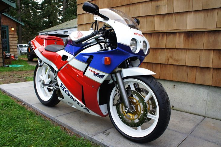 Little Brother: 1989 Honda VFR400R for Sale