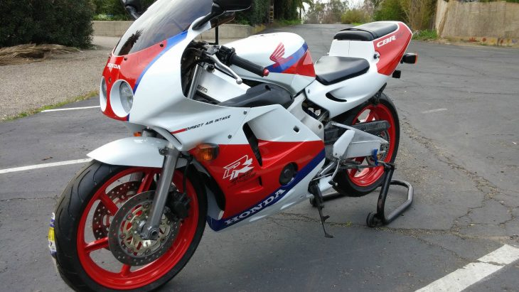Tiny Terror: 1990 Honda CBR250RR for Sale