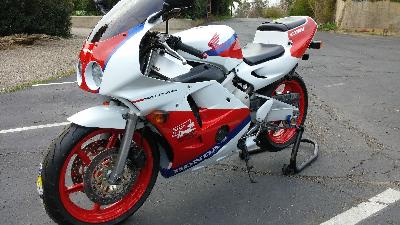tiny terror 1990 honda cbr250rr for sale rare. Black Bedroom Furniture Sets. Home Design Ideas