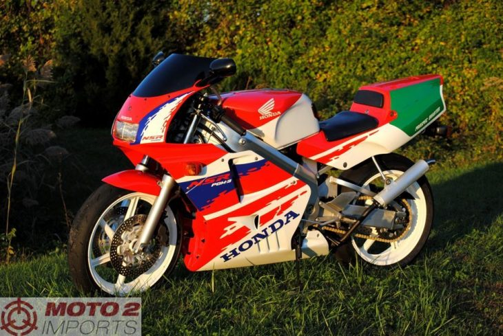 Featured Listing:  Clean, Recently-Imported MC21 1990 Honda NSR250R