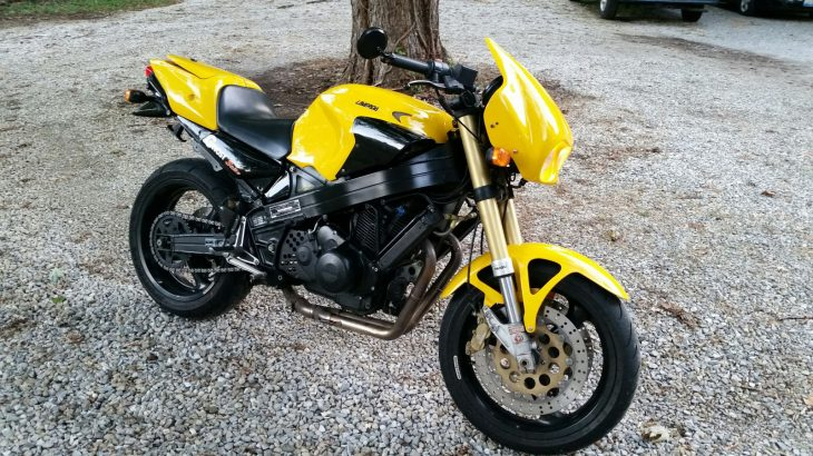 Spooky Sportbike: 1998 Laverda Ghost Strike 668 for Sale