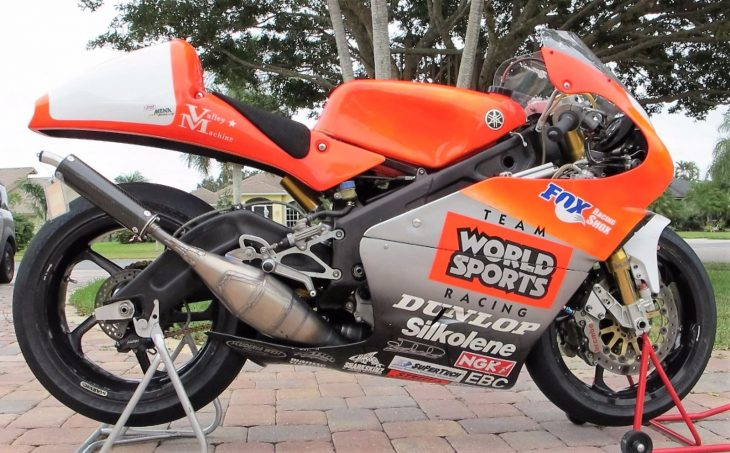 Everybody Loves a Winner: 1998 Yamaha TZ250 for Sale