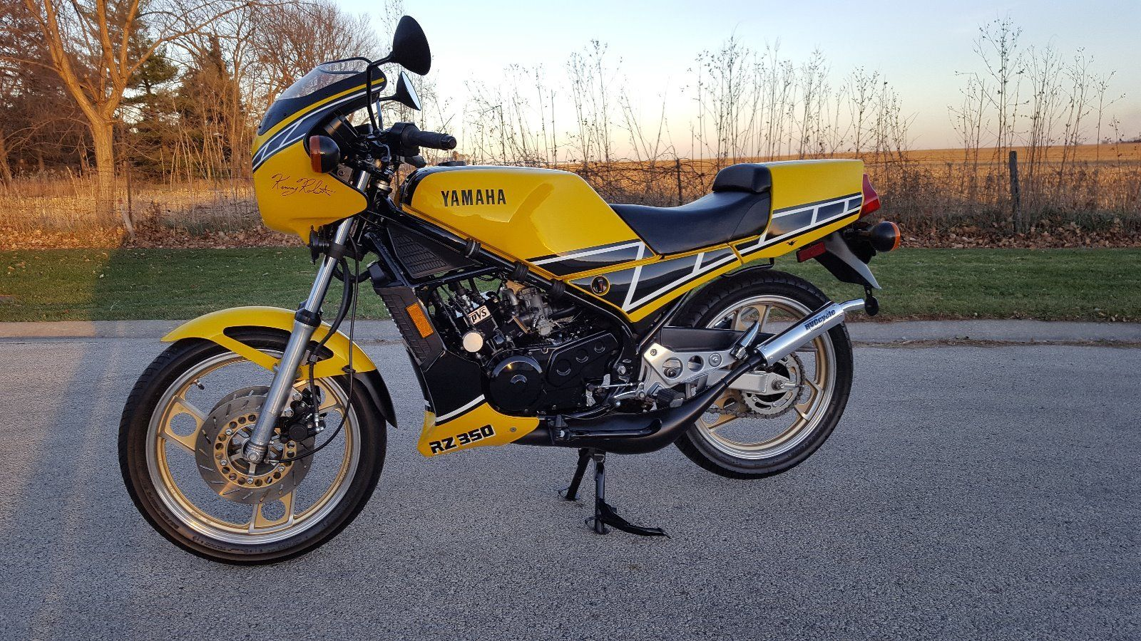 11 out of 10 1984 yamaha rz350 rare sportbikes for sale for Yamaha rz for sale