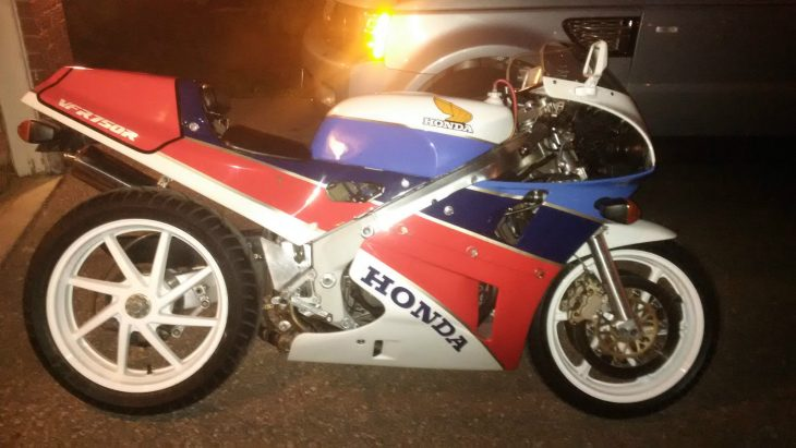 Out of the Winter Darkness:  1989 Honda RC30 in Canada