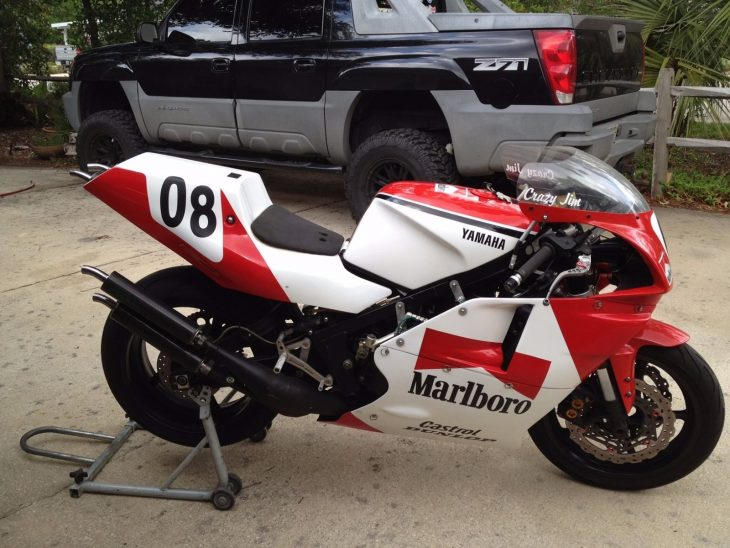 Not quite stock 1985 yamaha rz500 for sale rare for Yamaha rz for sale