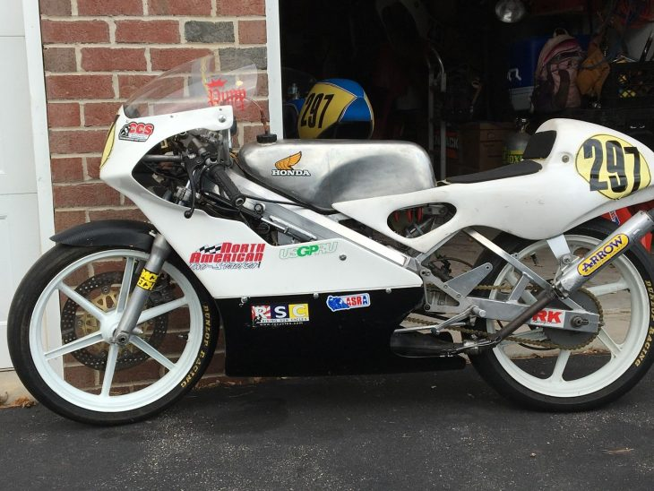 Ready to Race: 1993 Honda RS125 NF4 for Sale