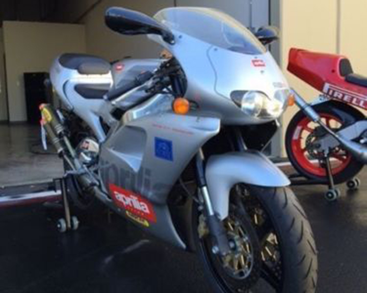 Cali Plate: 1996 Aprilia RS250 for Sale