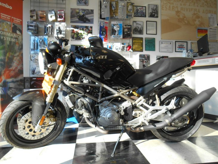Diamond in the Rough: 1994 Ducati Monster M900 for Sale