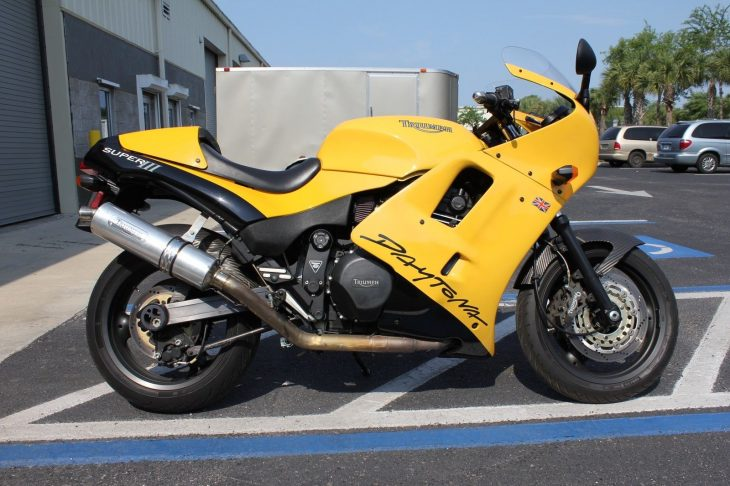 British Beef: 1996 Triumph Daytona Super III for Sale