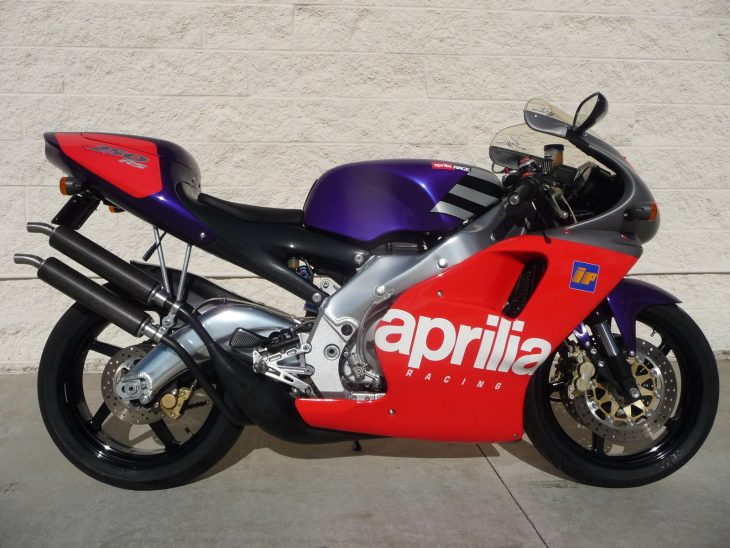 Mark 1 – 1995 Aprilia RS250 Loris Reggiani Replica #275 of 500