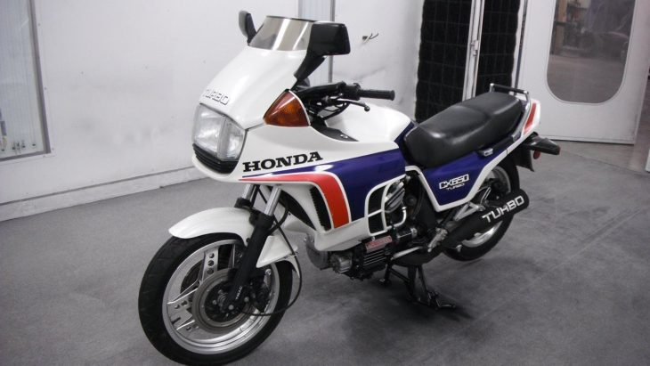 Mr T: 1983 Honda CX650 Turbo