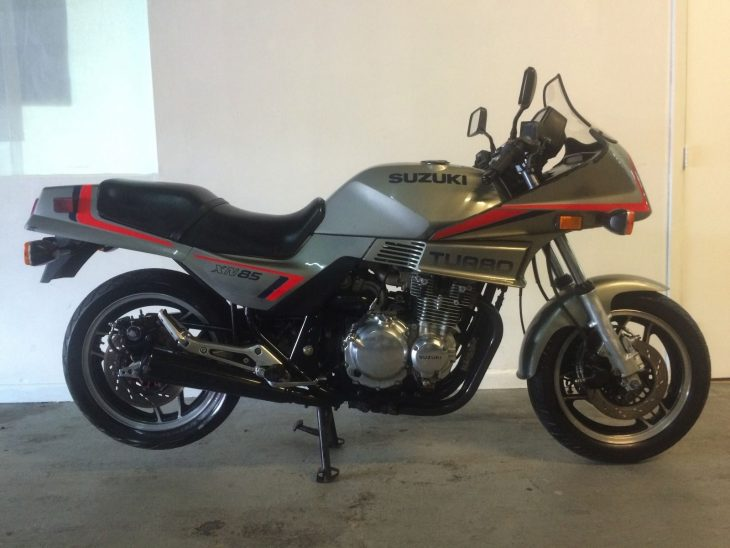 One Year Only: 1983 Suzuki XN85 Turbo