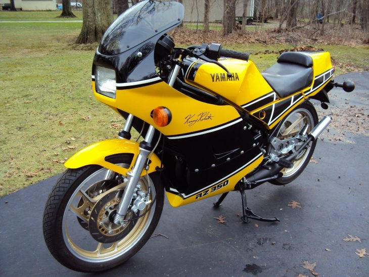 Restored Replica: 1984 Yamaha RZ350 for Sale