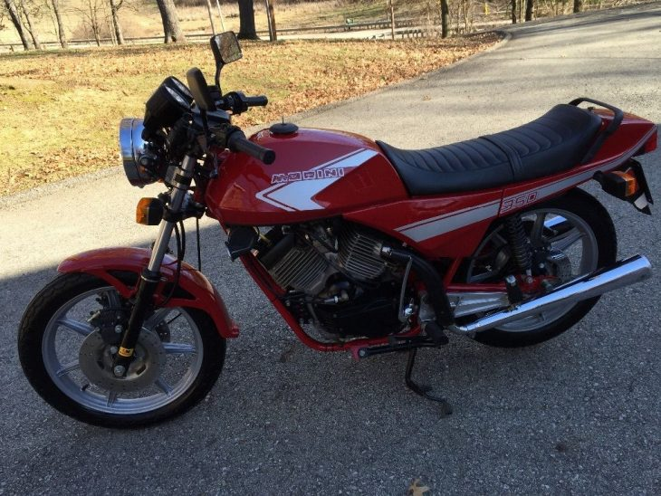 Something Different: Low-Mileage 1986 Moto Morini K2 for Sale
