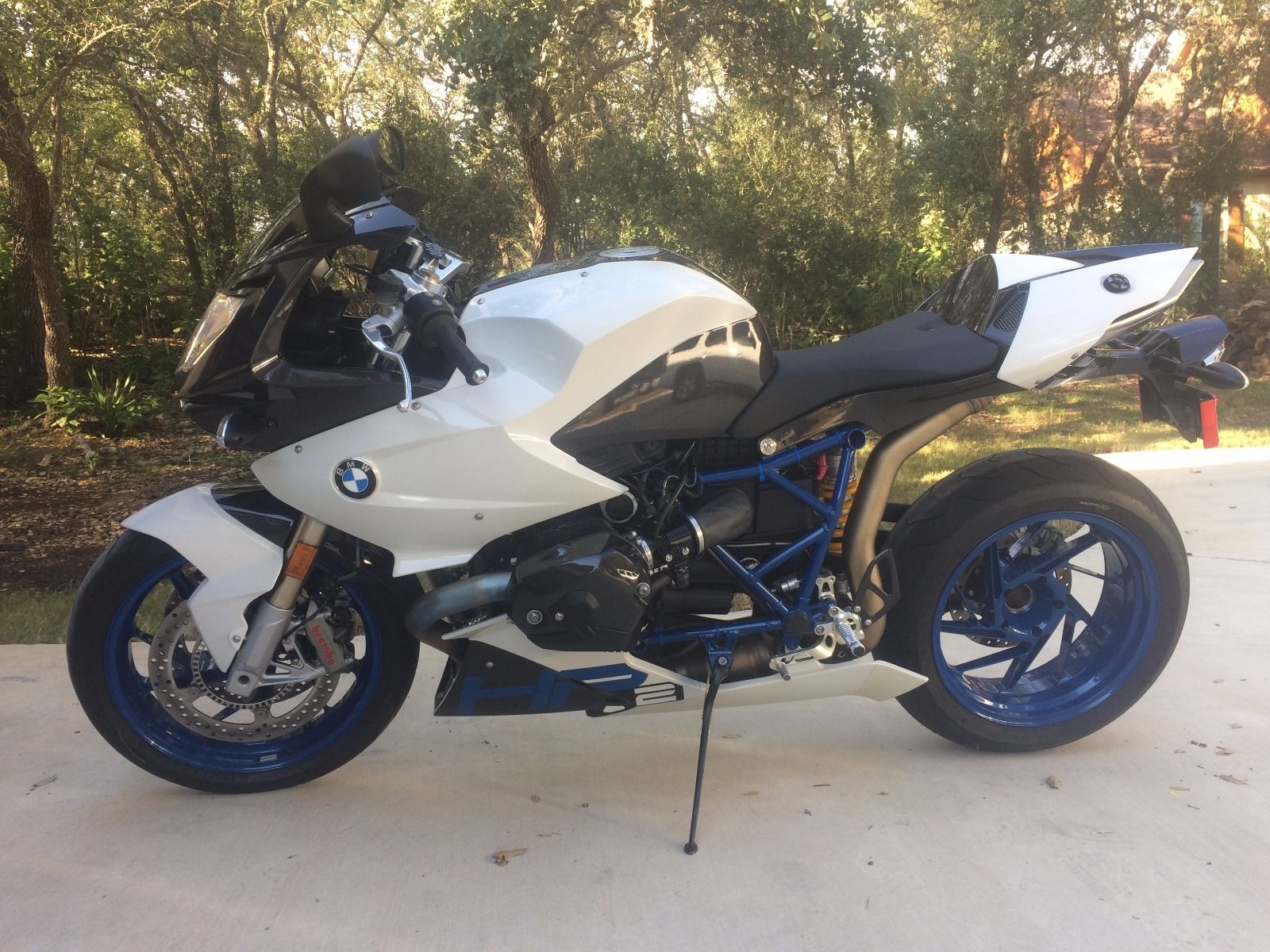 brains and brawn: 2009 bmw hp2 sport for sale - rare sportbikes for sale